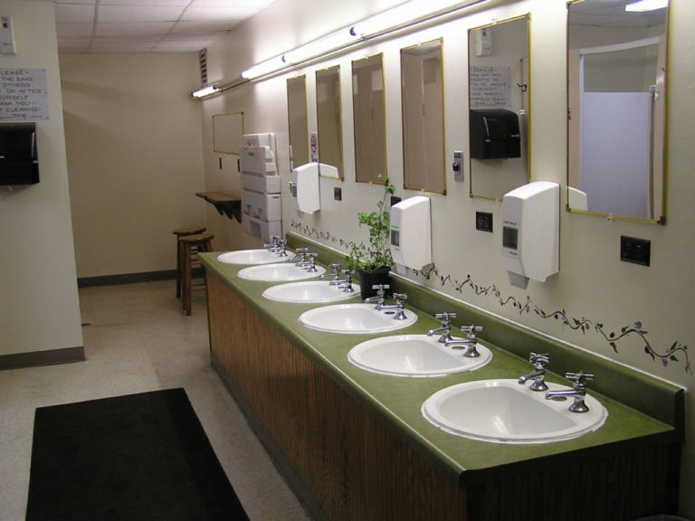 Enjoy a hot shower in our very clean spacious modern restrooms  We take pride in our exceptionally clean facilities. Restrooms